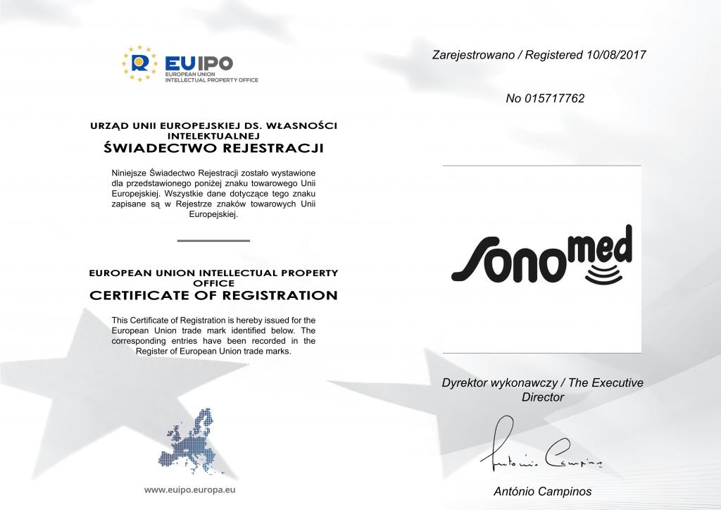 EUIPO TM Certificate